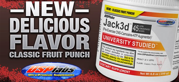 Jack3d Classic Fruit Punch