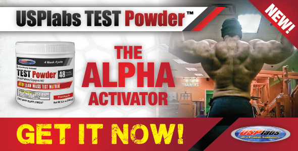 USP Labs Test Powder
