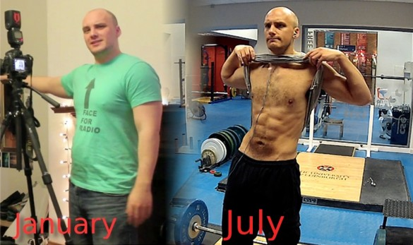 Dom Bower from January to July
