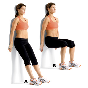 Prison Workout - Wall Squat