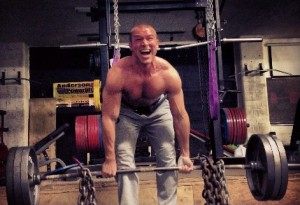 Colby Deadlifting