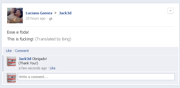 Bing and Facebook Translator Knows What's Up!