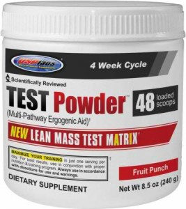 TEST Powder is a Great Source of L-Carnitine L-Tartrate... and Much More!