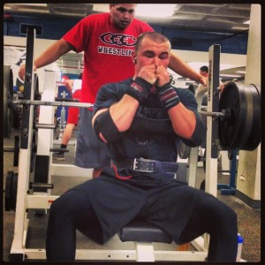 Colby Gets PUMPED Before Bench Press