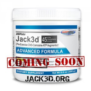Jack3d with DMAA is Discontinued, but Jack3d Advanced is Coming Soon!